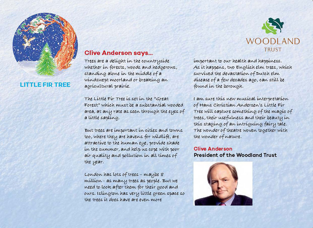 Little Fir Tree Programme - Page 3
