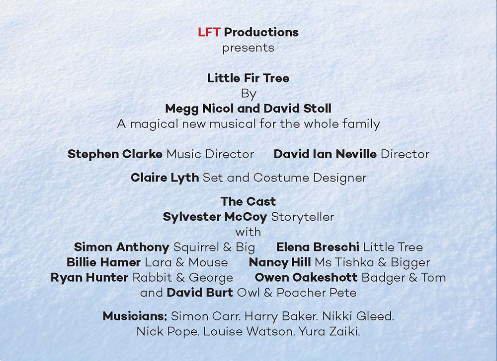 Little Fir Tree Programme - Page 4