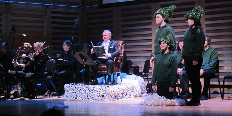 Little Fir Tree Cast and Orchestra