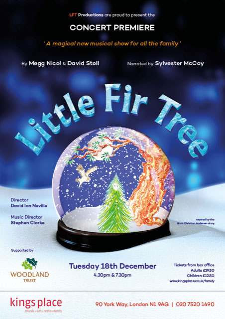 Little Fir Tree, December 18th 2018, Kings Place, London
